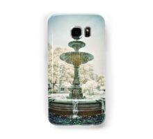 Peace Fountain Blue Samsung Galaxy Case/Skin