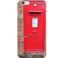 London Mail iPhone Case/Skin