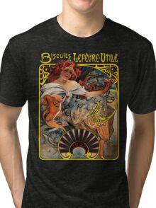 Mucha - Bicuits LeFevre-Utile Tri-blend T-Shirt