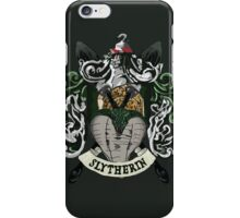 Slytherin House Pride iPhone Case/Skin