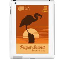 Puget Sound. iPad Case/Skin