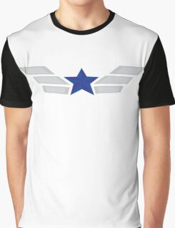 Blue stars and Stripes Graphic T-Shirt