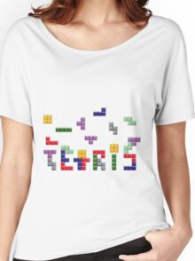 Tetris Style Women's Relaxed Fit T-Shirt