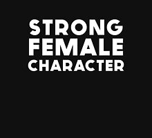 STRONG FEMALE CHARACTER GILLIAN ANDERSON Women's Fitted V-Neck T-Shirt