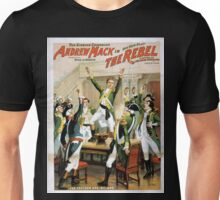 Performing Arts Posters The singing comedian Andrew Mack in his new play The rebel a drama of the Irish rebellion by James B Fagen 1335 Unisex T-Shirt