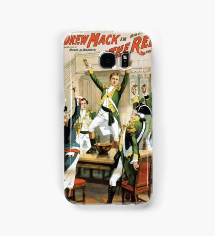 Performing Arts Posters The singing comedian Andrew Mack in his new play The rebel a drama of the Irish rebellion by James B Fagen 1335 Samsung Galaxy Case/Skin