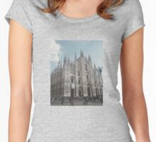 Milan Cathedral II Women's Fitted Scoop T-Shirt