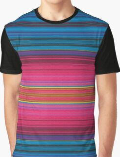 Colorful Texture Graphic T-Shirt