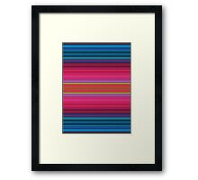 Colorful Texture Framed Print