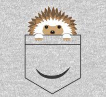 Hedgehog In Your Pocket One Piece - Short Sleeve