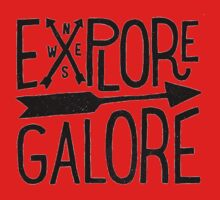Explore Galore Baby Tee