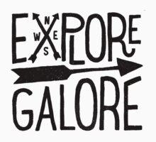 Explore Galore One Piece - Short Sleeve