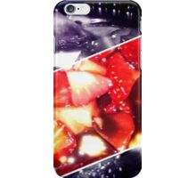 Rectangle Strawberries iPhone Case/Skin