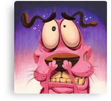 Courage the Cowardly Dog Canvas Print