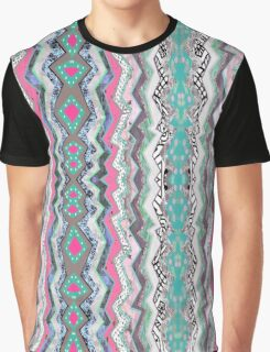 Love YOU Aztec Pattern Graphic T-Shirt