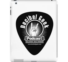 Decibel Geek Guitar Pick! iPad Case/Skin