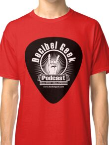 Decibel Geek Guitar Pick! Classic T-Shirt