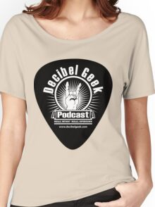 Decibel Geek Guitar Pick! Women's Relaxed Fit T-Shirt