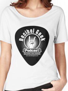 Decibel Geek Guitar Pick! Women's Relaxed Fit T-Shirt