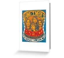 Tame Impala Authentic Manhattan Poster Artwork Greeting Card