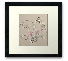 Fish Girl Framed Print