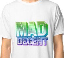 Rainbow Mad Decent Logo Classic T-Shirt