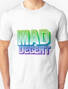 Rainbow Mad Decent Logo Unisex T-Shirt