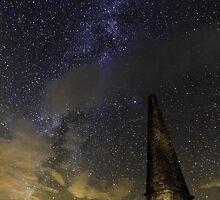 Milky Way Over Murrays Monument by derekbeattie