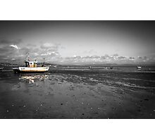 Mumbles at low tide Photographic Print