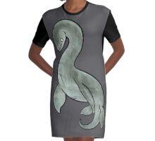 Nessie Graphic T-Shirt Dress