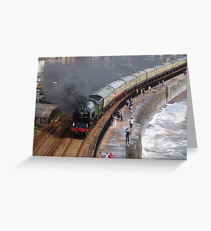 LNER 60163 'Tornado' at Dawlish Greeting Card