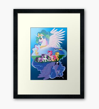 My Little Pony Framed Print