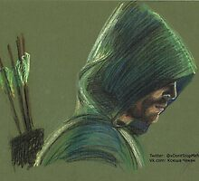 Green Arrow by xDontStopMeNow