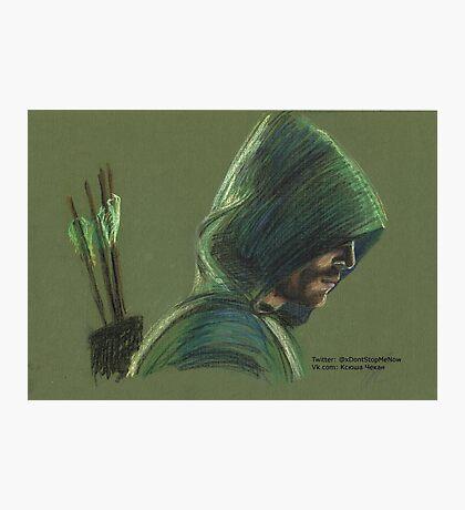 Green Arrow Photographic Print