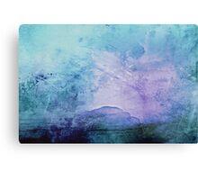 Cotton Candy Mountain  Canvas Print