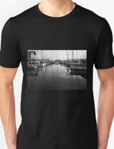 Boat Reflections Unisex T-Shirt