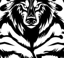 Shamanic Werewolf Sticker