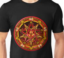 Elemental Pentacle for Fire Unisex T-Shirt