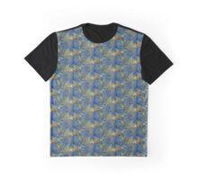 Ocean Tide At Sunset - Fractal Art Graphic T-Shirt