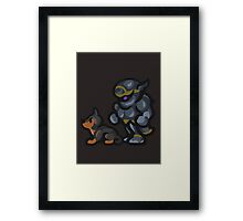Shadow and Interceptor Framed Print