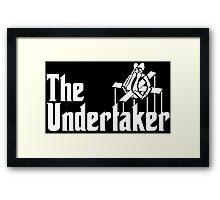 The Undertaker Framed Print