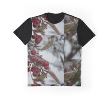 Frosted American Holly  Graphic T-Shirt