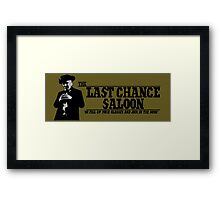 The Last Chance Saloon Framed Print