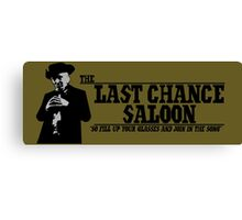 The Last Chance Saloon Canvas Print