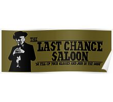 The Last Chance Saloon Poster
