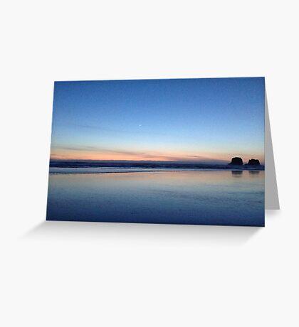 Canon Beach, Oregon Greeting Card