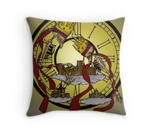 los reyes de la historia  Throw Pillow
