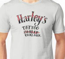 Harley's Tattoo (Parler) Parlour Unisex T-Shirt