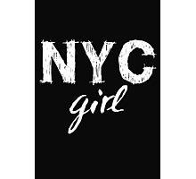 NYC New York City girl  Photographic Print