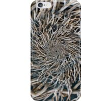 Wooden Branches Seamless Pattern Background iPhone Case/Skin
